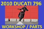 Thumbnail ☼↕☼ DUCATI 2010 HYPERMOTARD 796 WORKSHOP SHOP SERVICE REPAIR & PARTS MANUAL - DOWNLOAD NOW